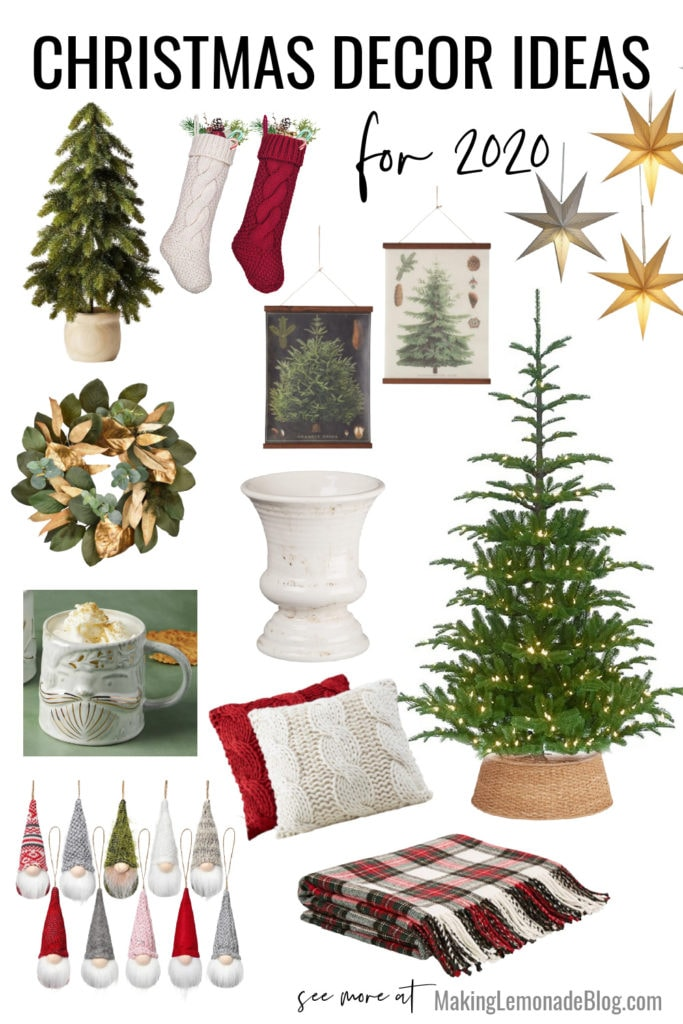 Christmas decorating ideas idea board