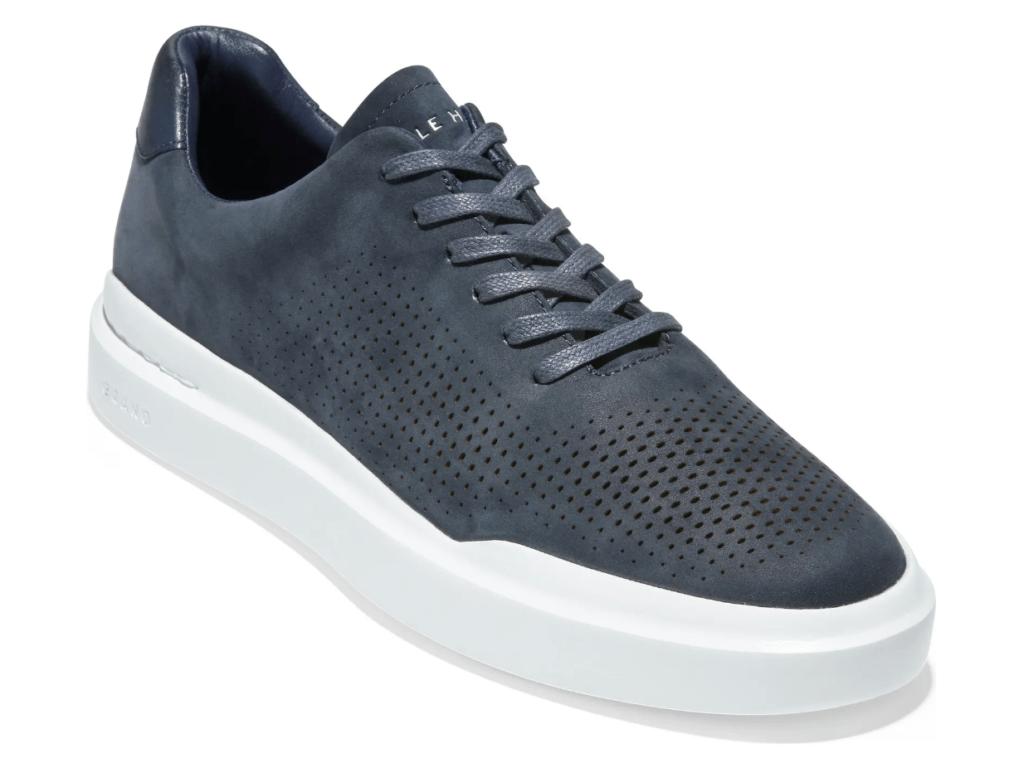 navy blue men's shoes