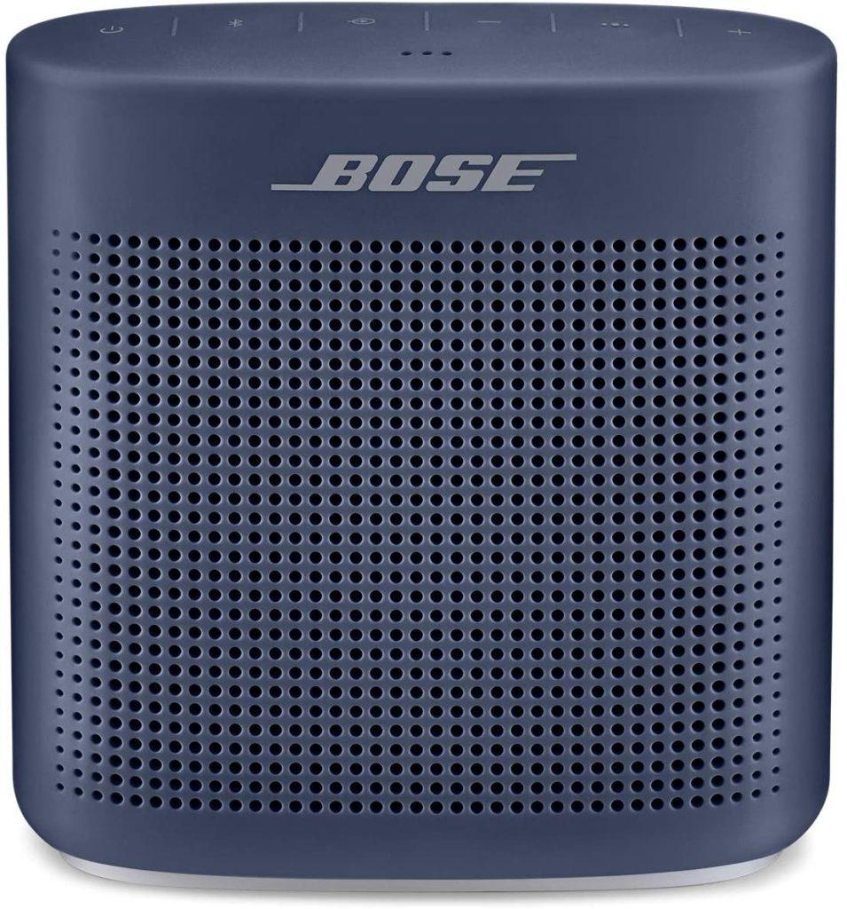 Bose speaker in navy blue
