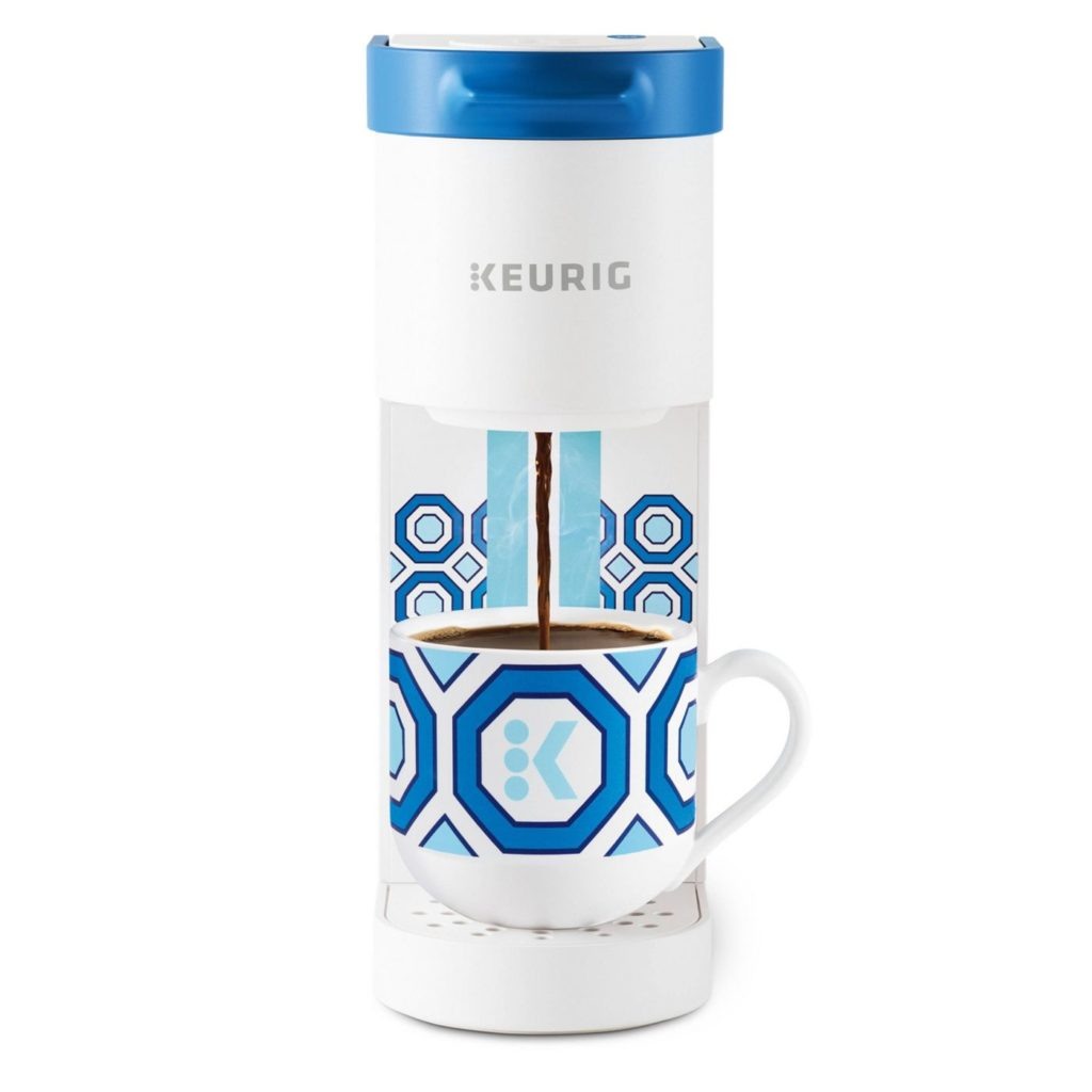 mini Keurig coffee brewer
