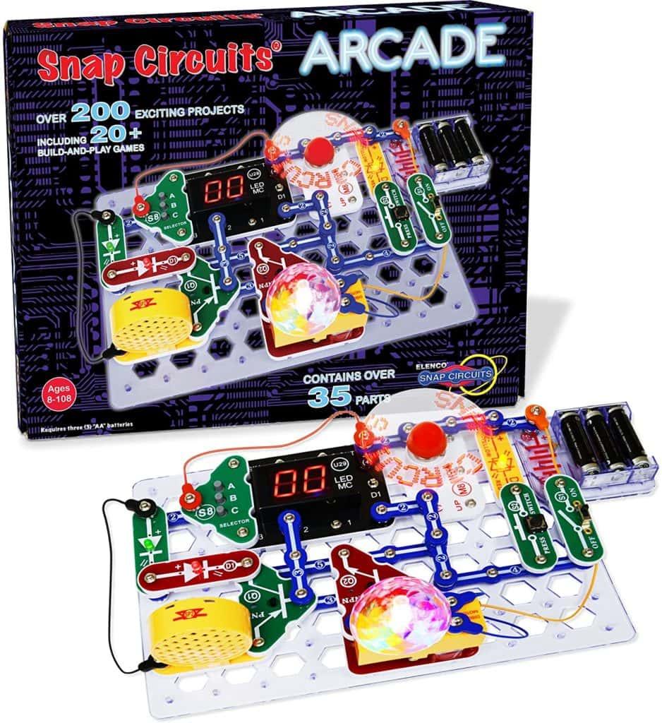snapcircuits arcade