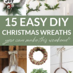 DIY Christmas Wreath Ideas You Can Make This Weekend