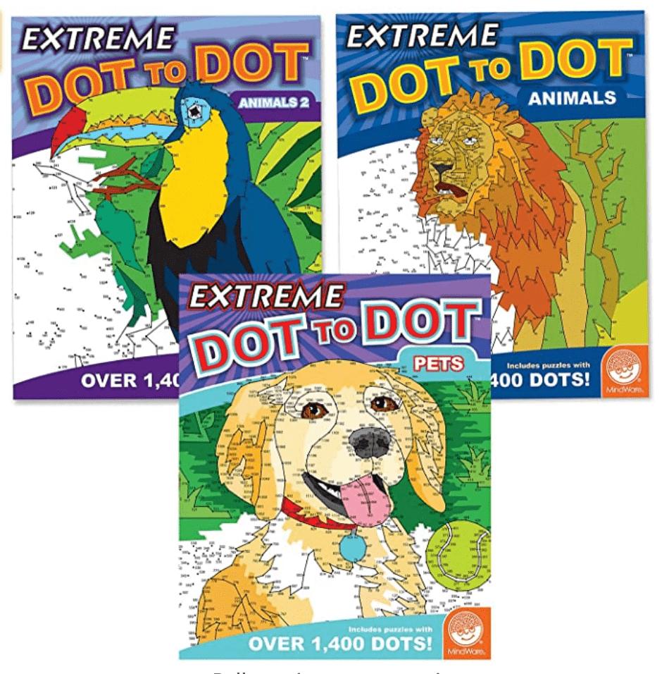 extreme dot to dot books