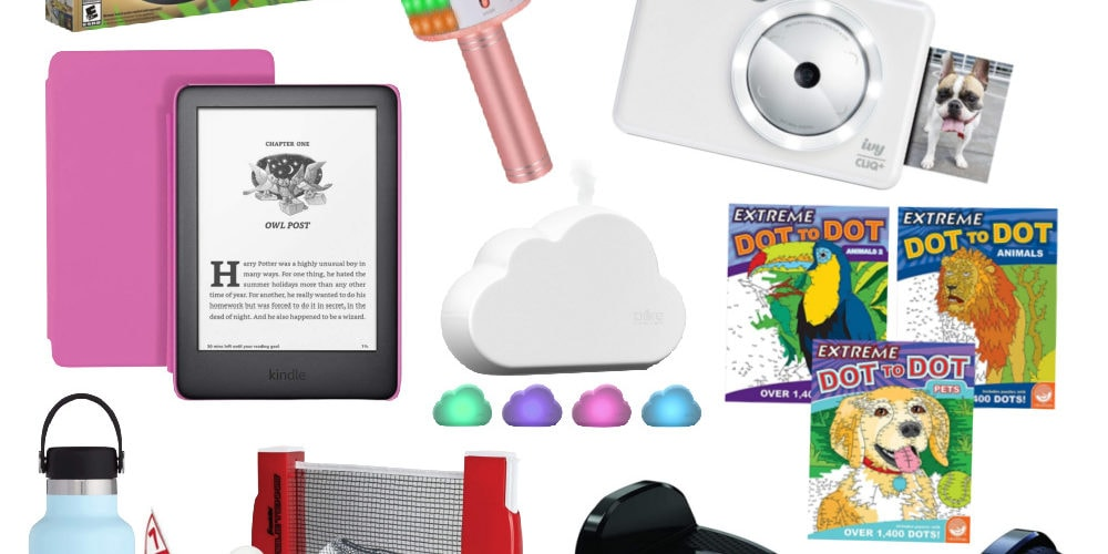 gift ideas for kids and teens collage