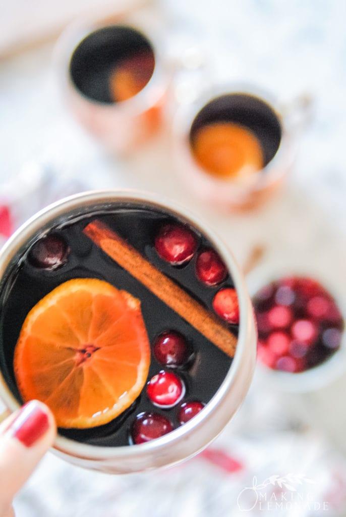 Yule Mule Christmas cocktail