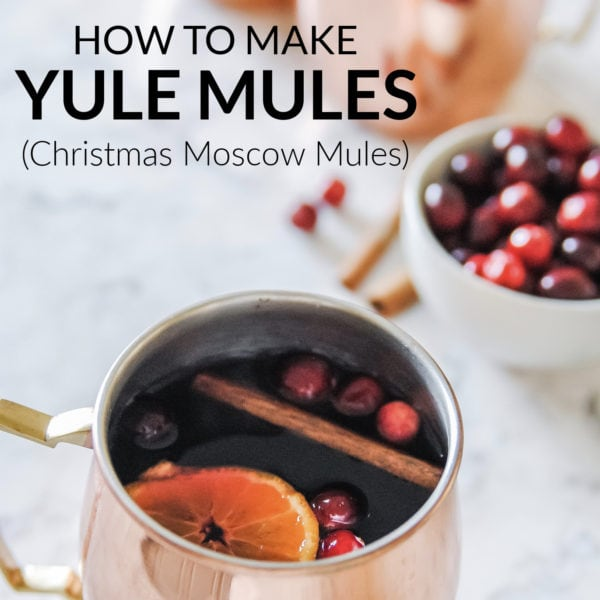 how to make yule mules pin