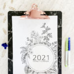 Free Printable 2021 Planner