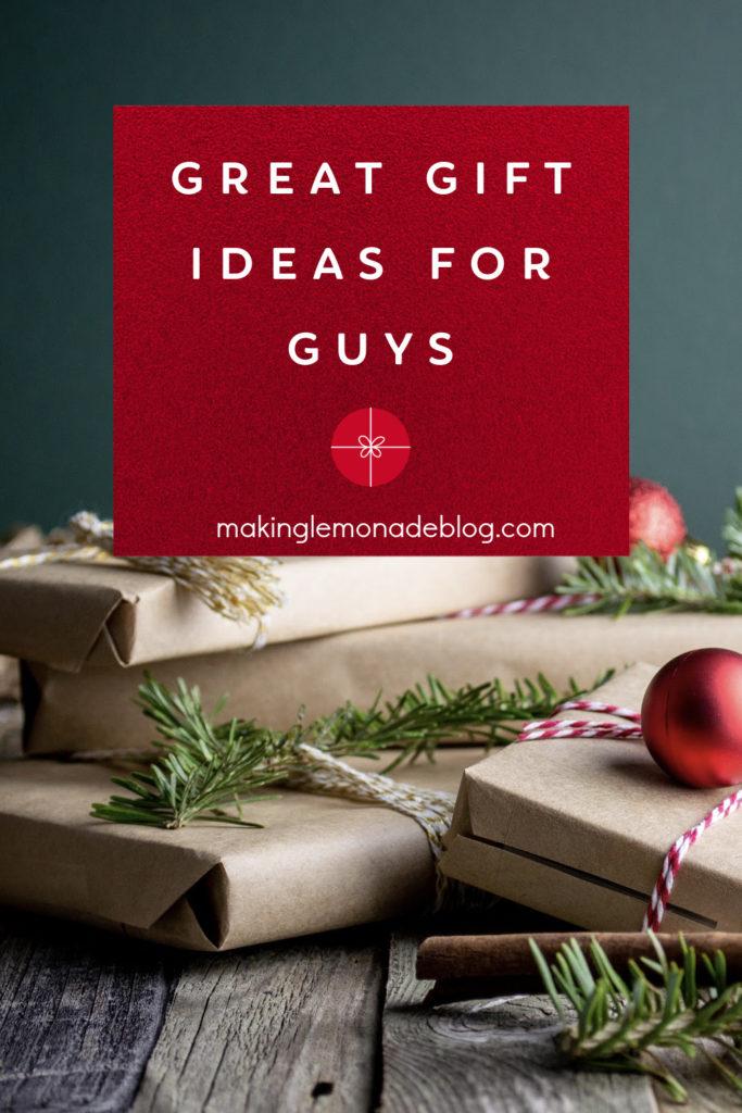 gift ideas for men pin