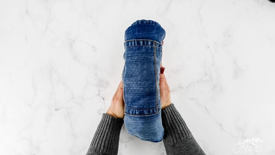 konmari folded pants