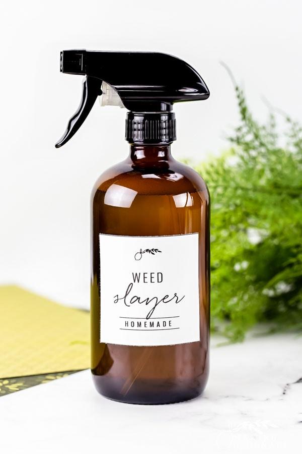 all natural weed killer in bottle