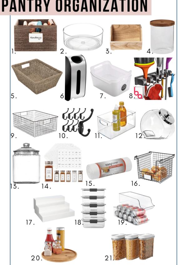 21 Best Pantry Organization Ideas On Amazon