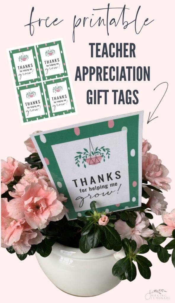 free printable teacher gift tags pin