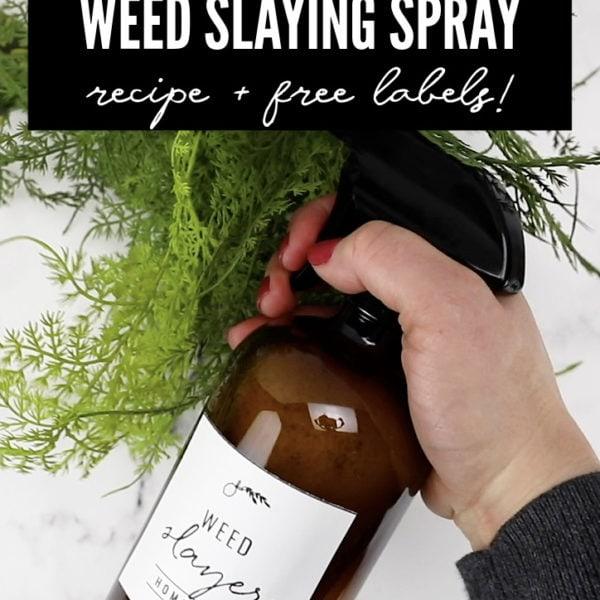 natural non-toxic weed killing spray pin