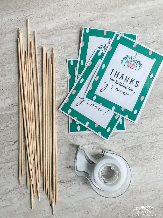 plant tag supplies