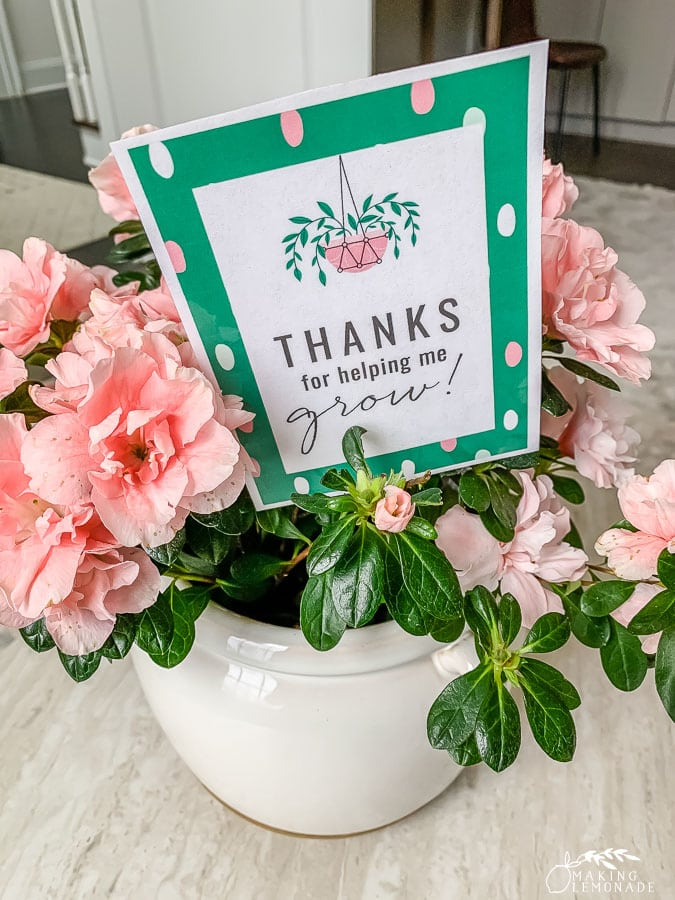 printable teacher appreciation gift tag with flowers
