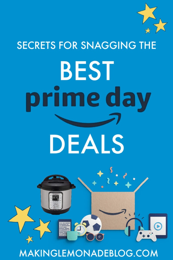 secretes for getting the best amazon prime day deals pin