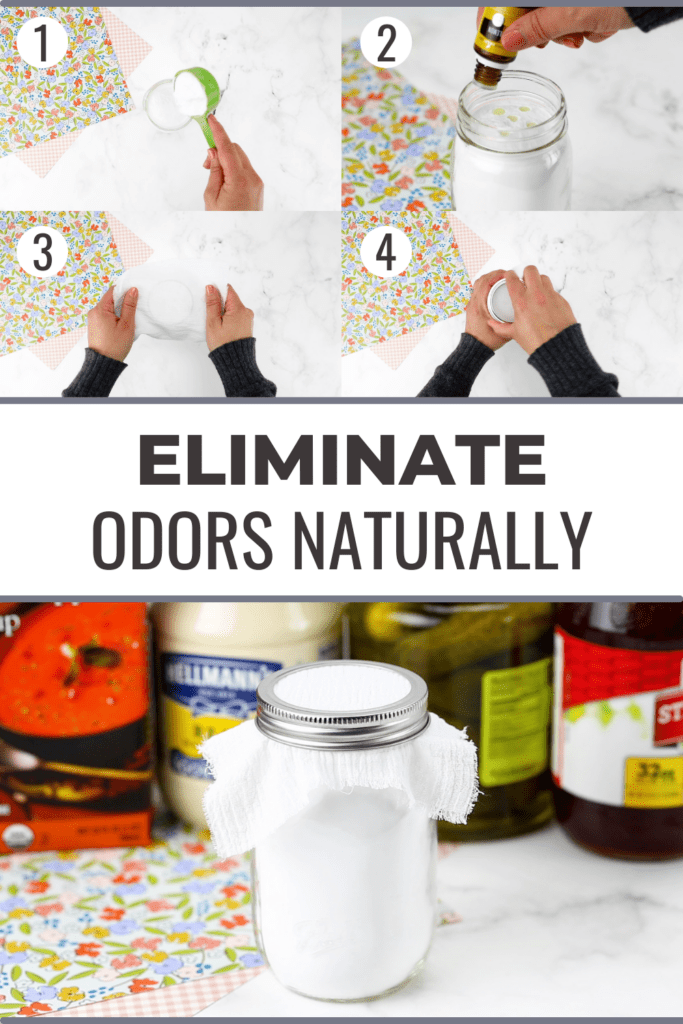 how to get rid of fridge odors collage