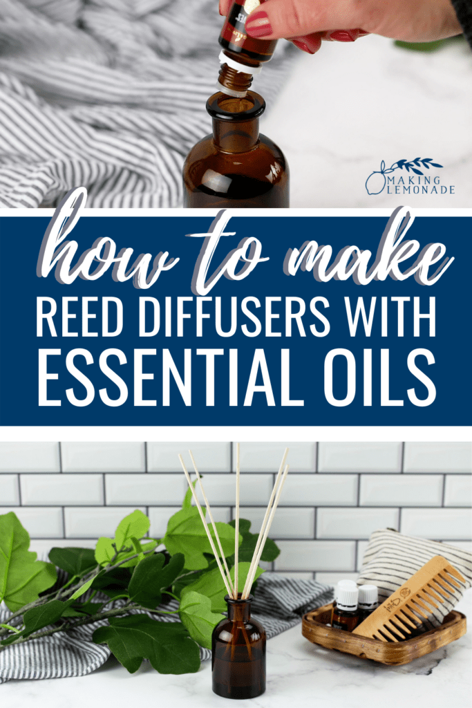 how to make reed diffusers using essential oils collage