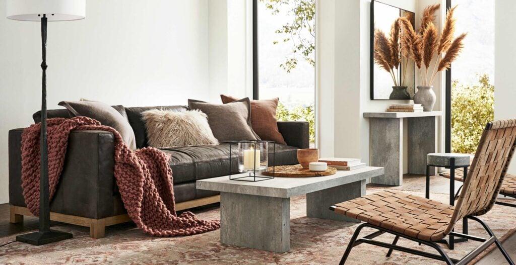 fall themed living room