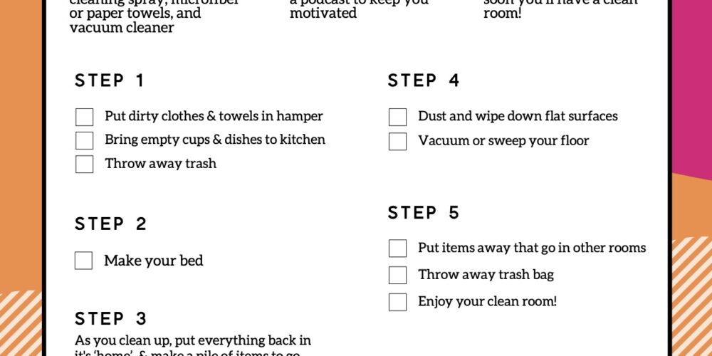 printable checklist for kids