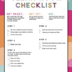 Free Kids Printable Cleaning Checklist For Bedrooms