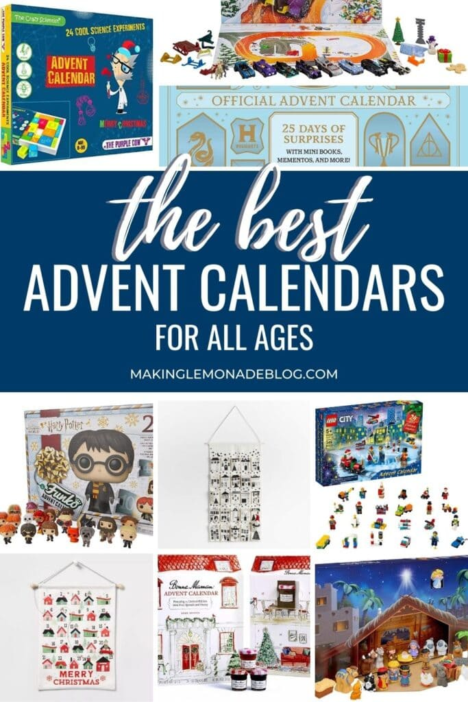 best advent calendars collage