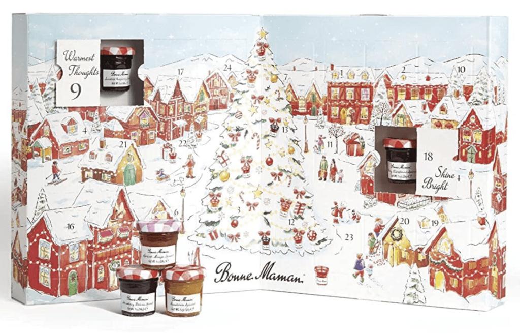 Bonne Maman Fruit Spread and Honey Advent Calendar
