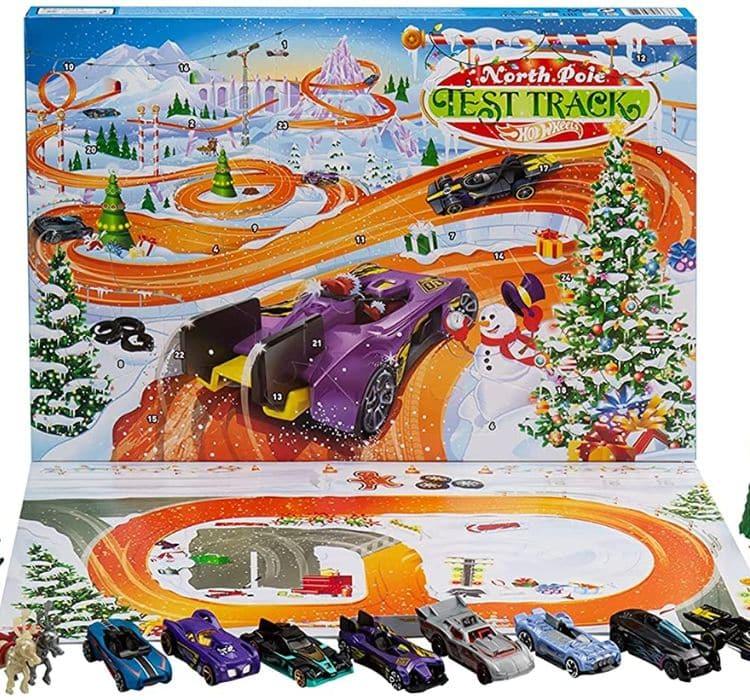 Hotwheels Advent Calendar