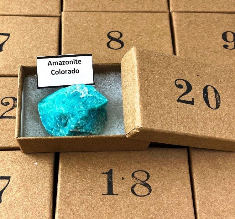Minerals and Gemstones Advent Calendar