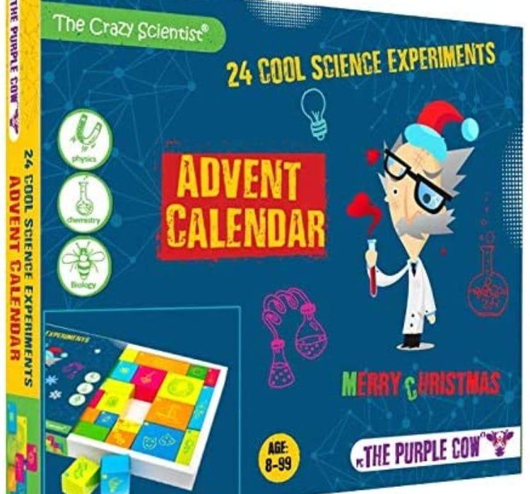 Science Experiments Christmas Advent Calendar