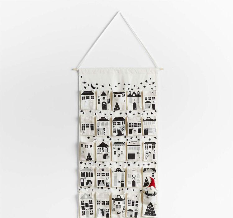 Gnome Wall Hanging Advent Calendar